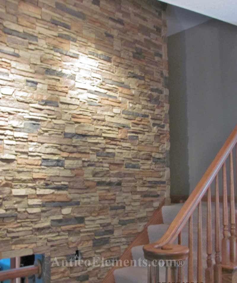 interior faux rock panels canada fake wall best stone ideas walls siding veneer for fireplace lowes