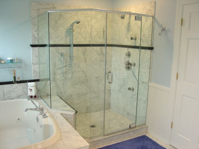 Images Of Heavy Shower Doors Heavy Shower With Header This