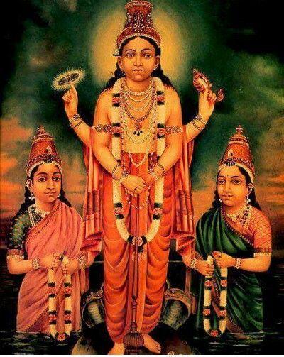 Vishnu Laxmi bhudevi