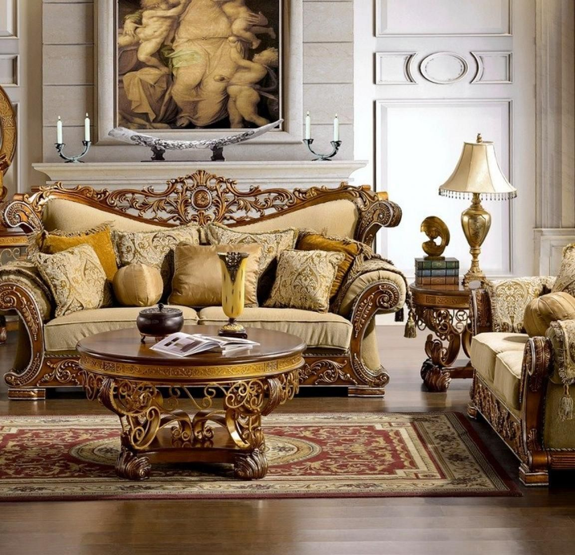 57 Enganging Luxury Living Rooms Inspirations | Elegant ...