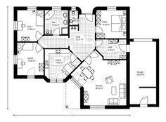 Berger Massivhaus berger massivhaus somnium grundriss erdgeschoss bungalow