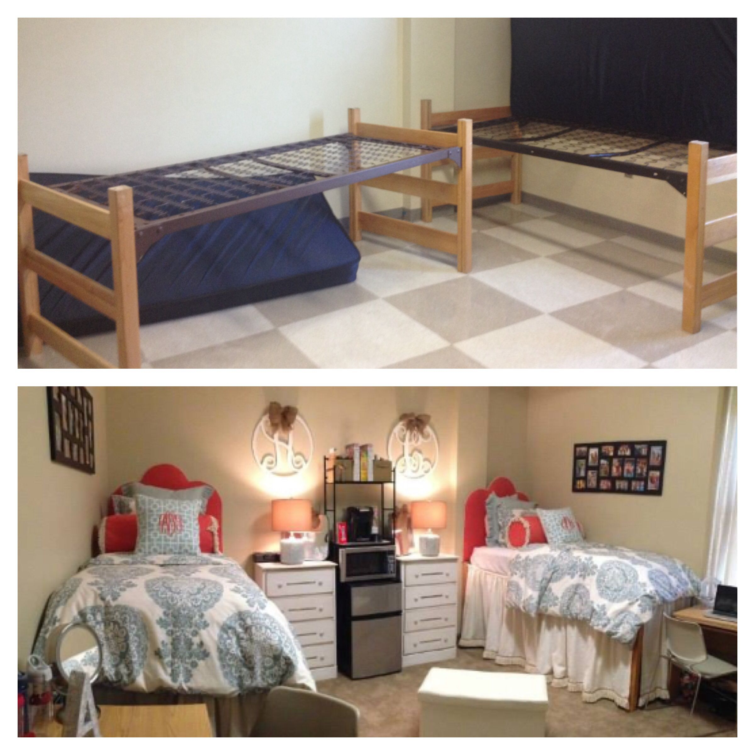 Virtual Dorm Room Design: Ole Miss Dorm Room Before And After. Stewart Hall