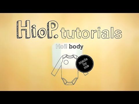 Kuinka ommella vauvan body   Hoi! body videotutorial - YouTube  #sewingforkids #easysewing #sewingtutorials #easypatterns