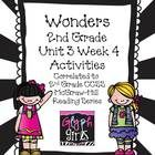 The Glyph Girls have created this 32 page product to supplement Week 3 of Unit 4 of the McGraw-Hill Wonders Reading Series. Activities target speci...