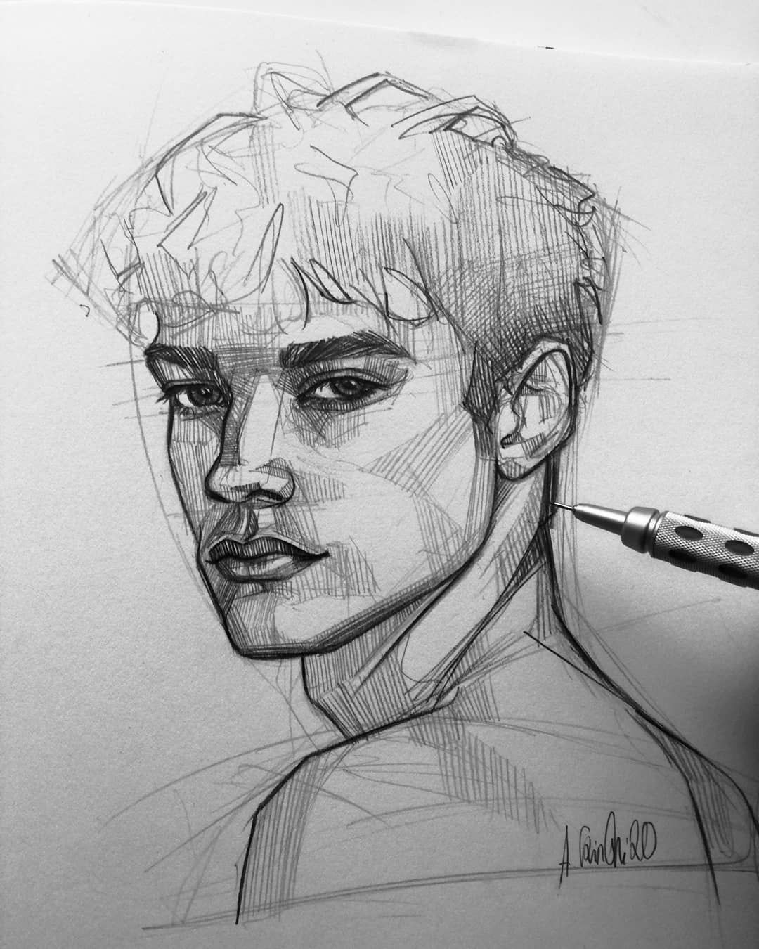 Photo of Pencil Sketch Artist Ani Cinski