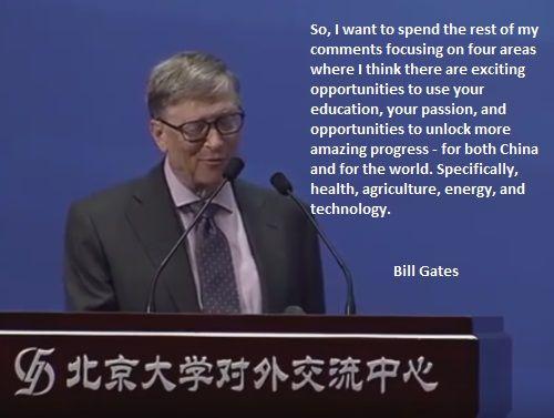 Bill Gates Peking University 24 March 2017 Speech