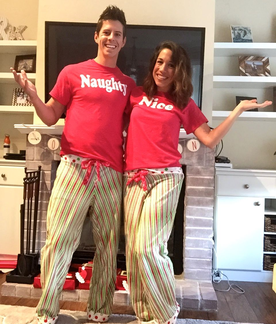 11fd3224b9 Dying for those cute holiday family pajamas  Here I show you how to make matching  sets yourself