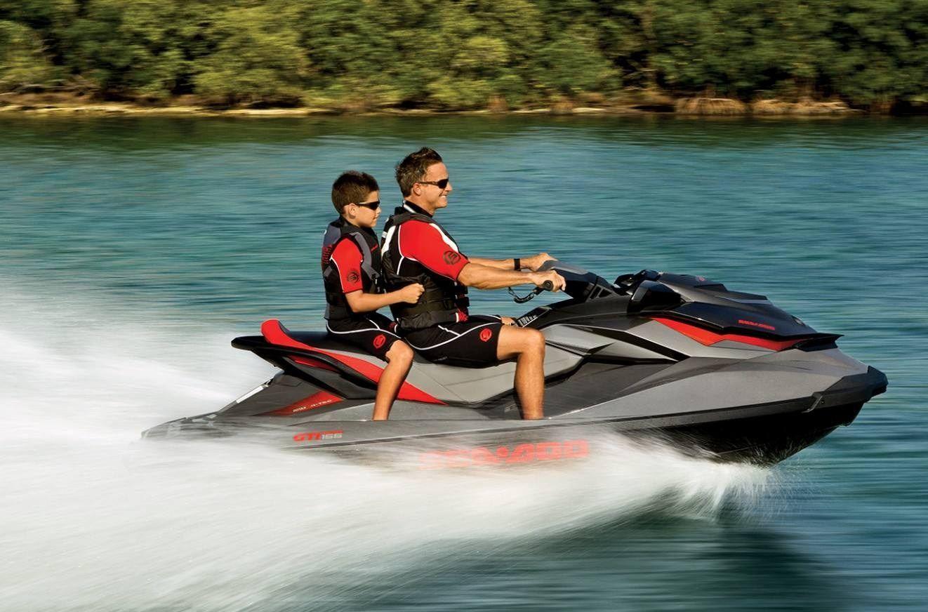 2014 seadoo gti limited 155 fun family jet ski sea