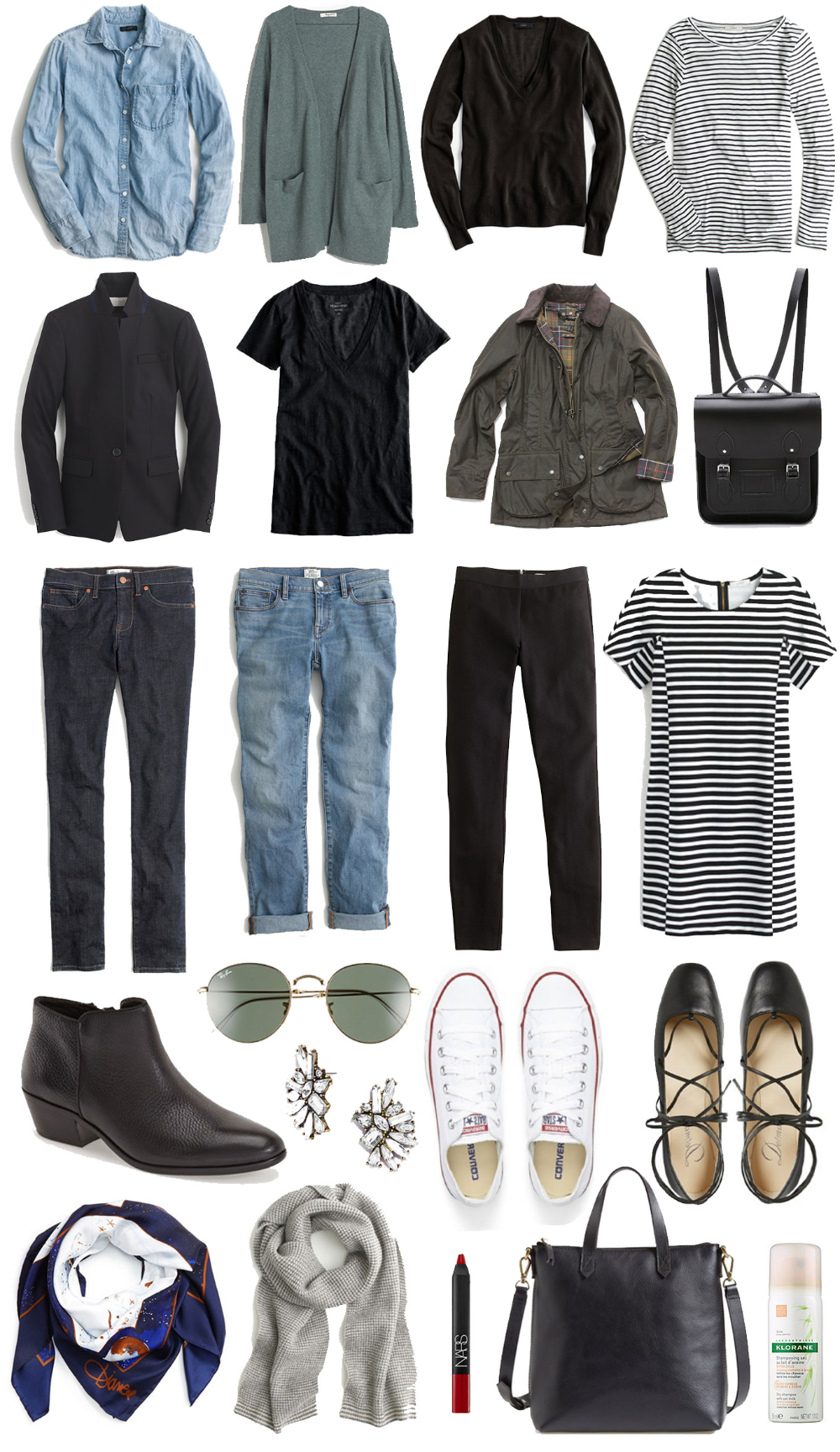 A Travel Capsule Wardrobe: Your Ultimate Packing List #ultimatepackinglist A Travel Capsule Wardrobe: Your Ultimate Packing List #ultimatepackinglist