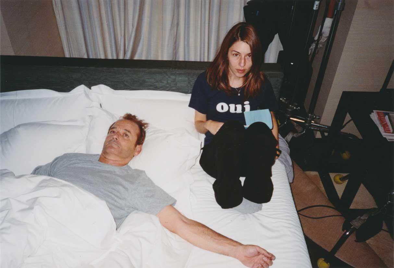 Bill Murray and Sofia Coppola