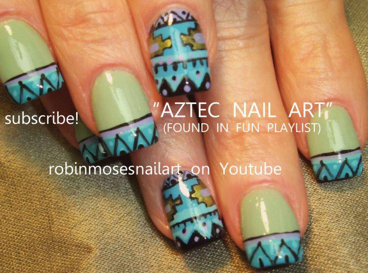 Nail Art Aztec Designs Mayan Southwestern Western | Exquisite Nail ...