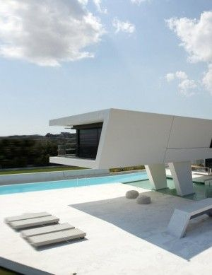 Superior House 3 In Athens By 314 Architecture, Floating Form Over Water _