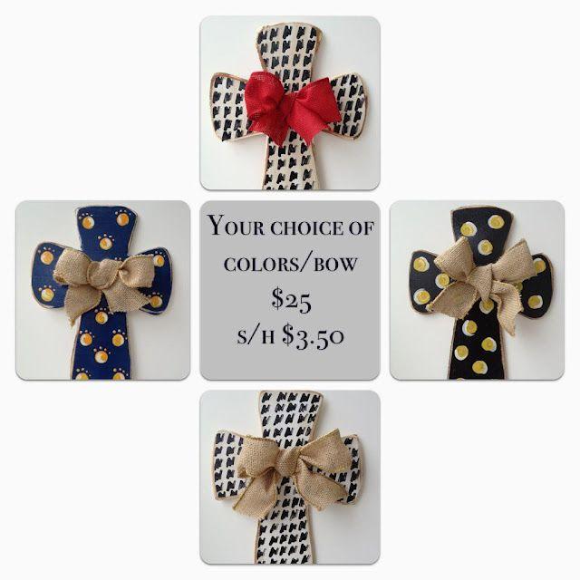 Flip Flops & Pearls Fundraising crosses