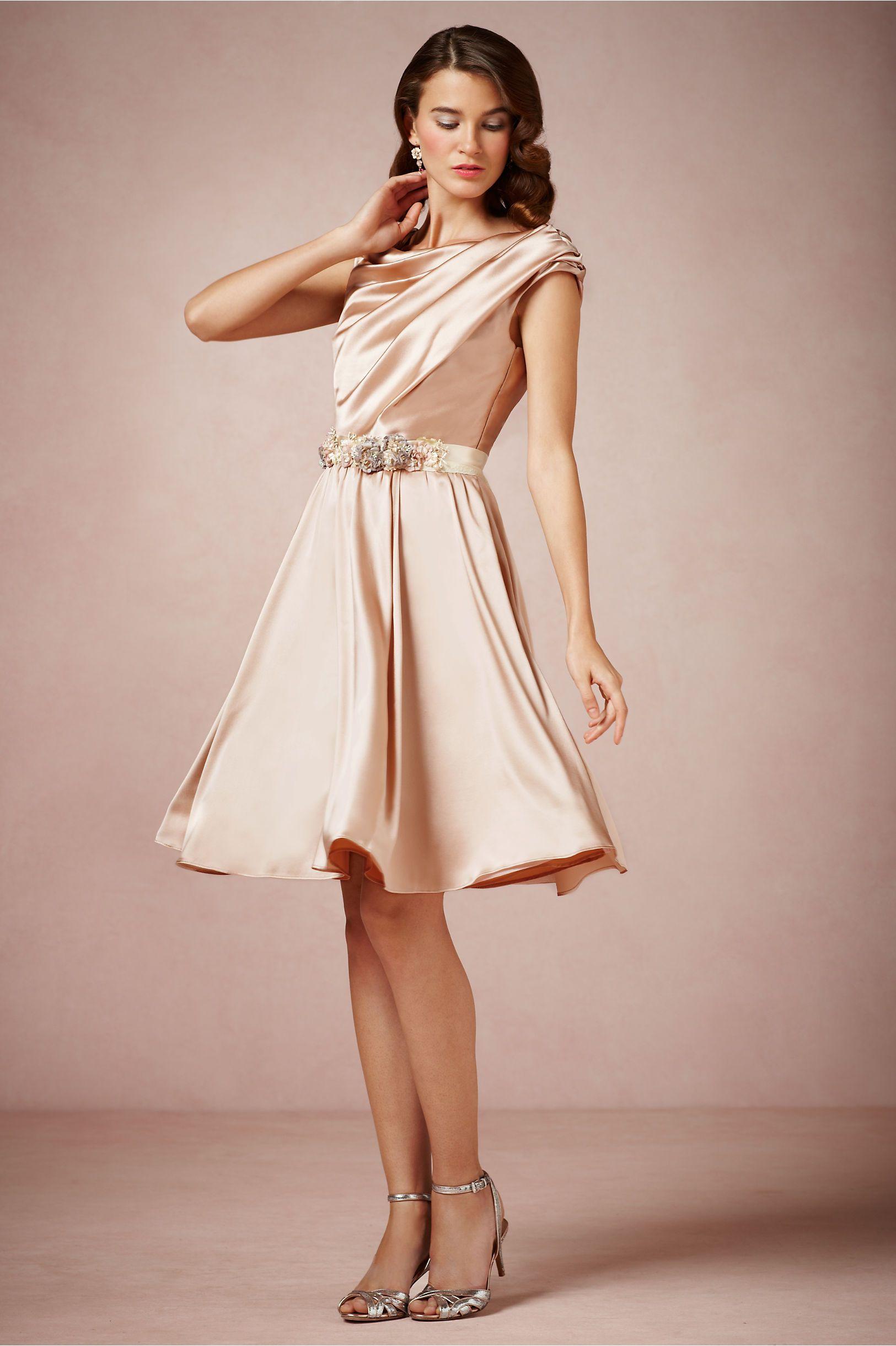 Gorgeous dress for wedding party  Exquisite Draped Silk  Fashion  Pinterest  Bridal parties Bride