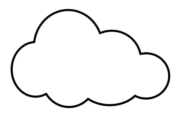 Clouds Is So Soft Coloring Page Kids Play Color Shape Coloring Pages Coloring Pages Cute Coloring Pages