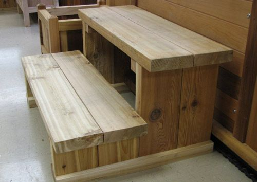 2 Tier Cedar Stairs Hot Tub Steps Hot Tub Outdoor Hot Tub Accessories