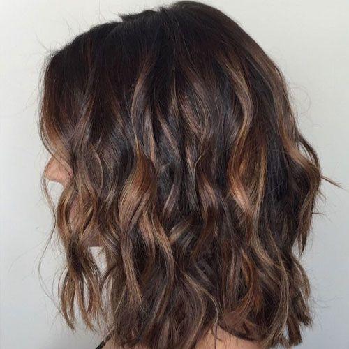Top Balayage For Dark Hair Black And Dark Brown Hair