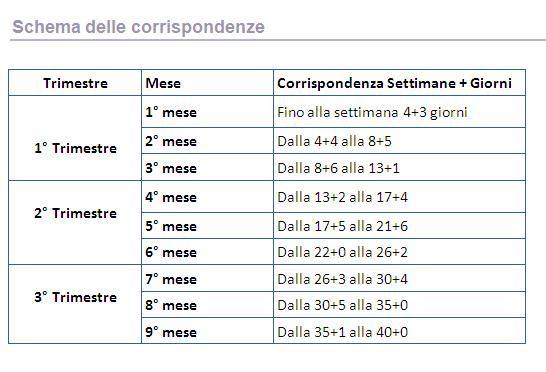 Calendario Della Gravidanza Calcolo.Pin Su Giorgetta