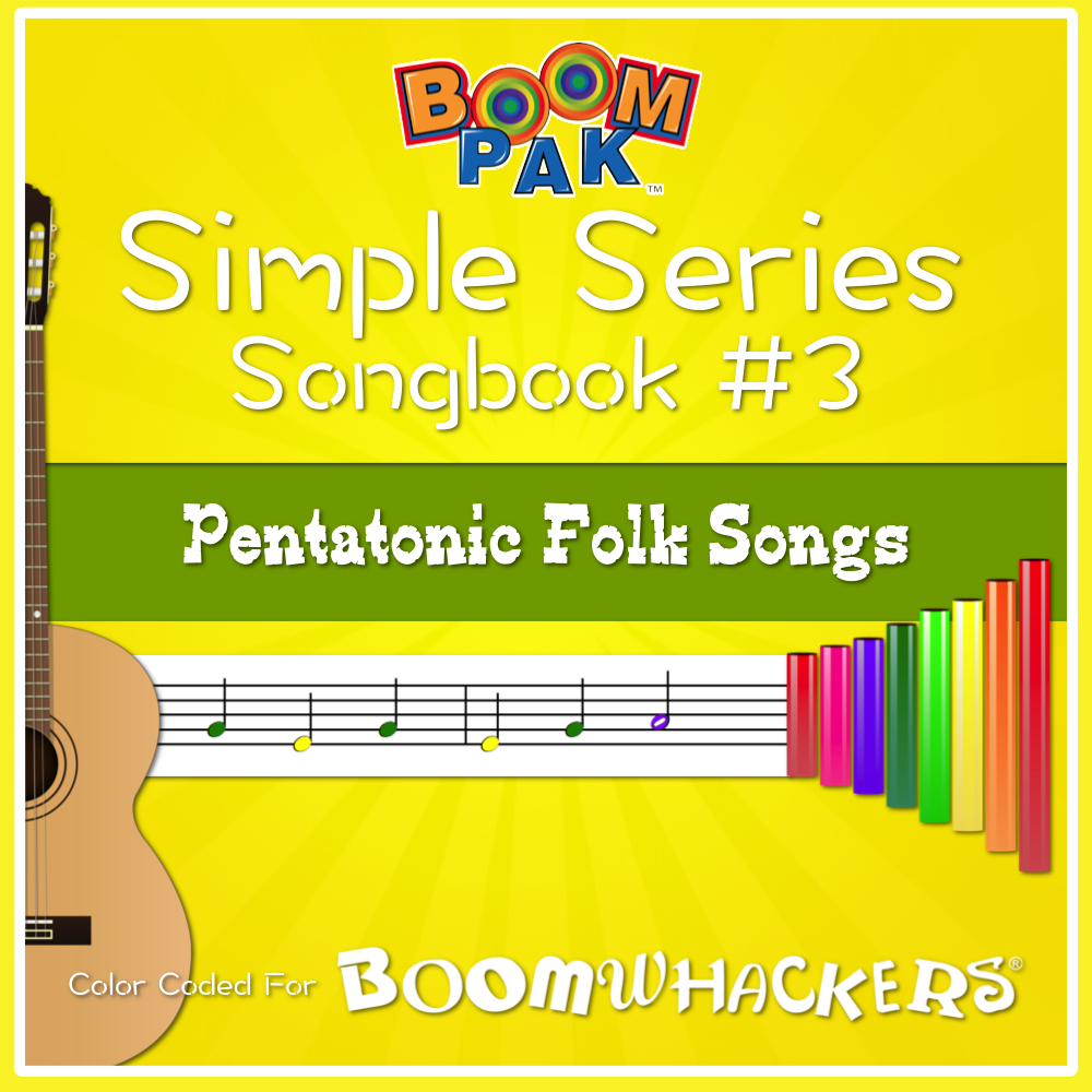 Simple Series Songbook 3 Pentatonic Folk Songs Folk