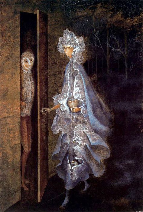 love.beauty (Remedios Varo The Encounter 1962) | Artwork painting, Painting,  Visual art