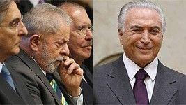 Lula e Temer evitam se falar na posse de Cármen Lúcia (O Globo)