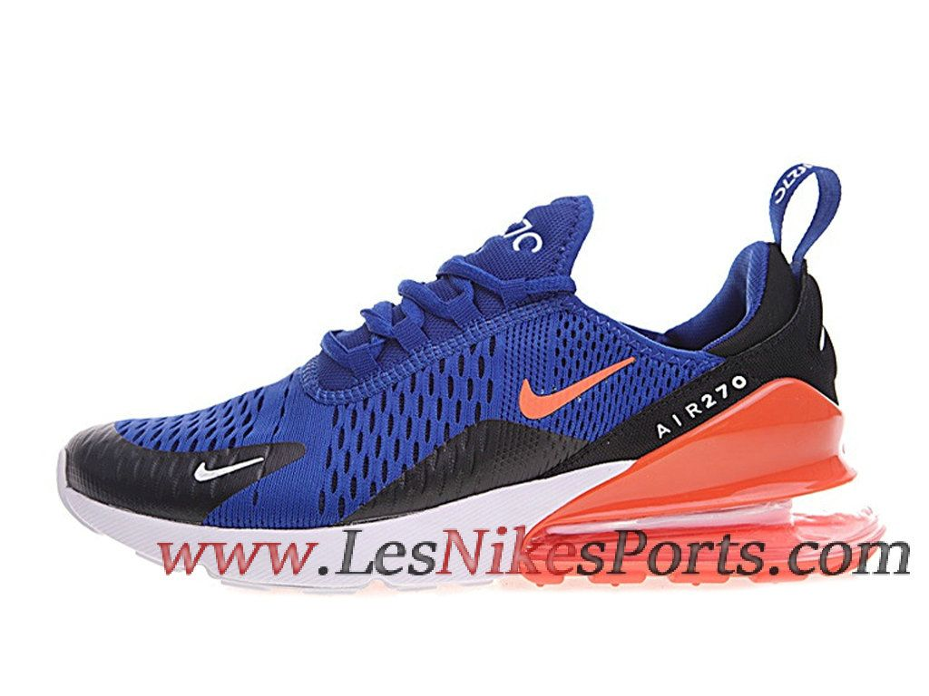 check out ff96a d1925 Basket Nike Air Max 270 Flyknit Royal Bleu Jacihth Chaussures Nike Running  Pas Cher Pour Femme AH8050-460 - 1810120513 - Le Nike Officiel Site.