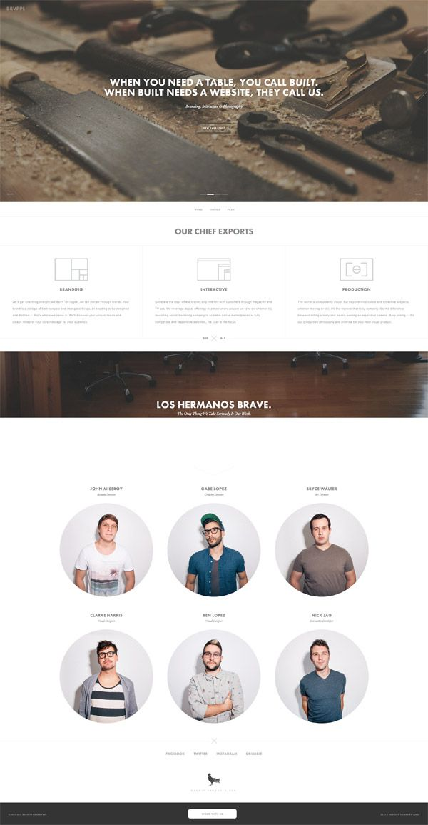 meet the team page inspiration