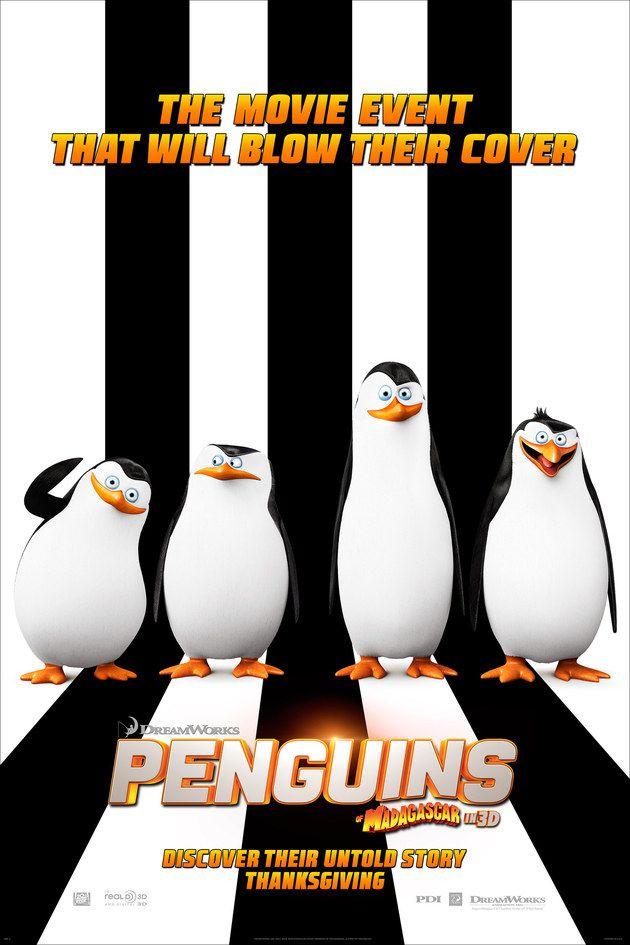 Pinguins De Madagascar Cena Estendida Traz Pinguins Ainda Bebes