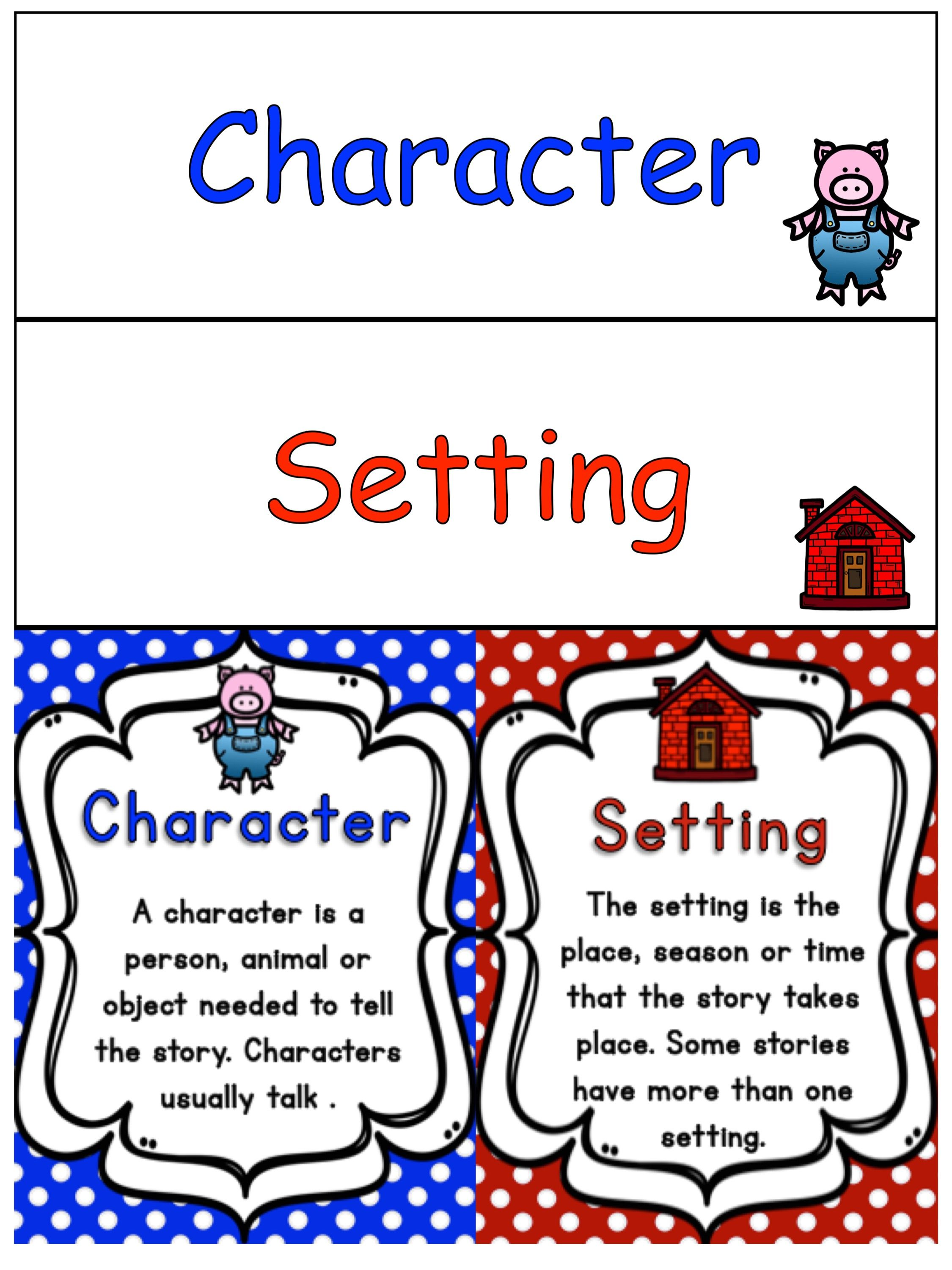 Story Elements Character Amp Setting Bundle A