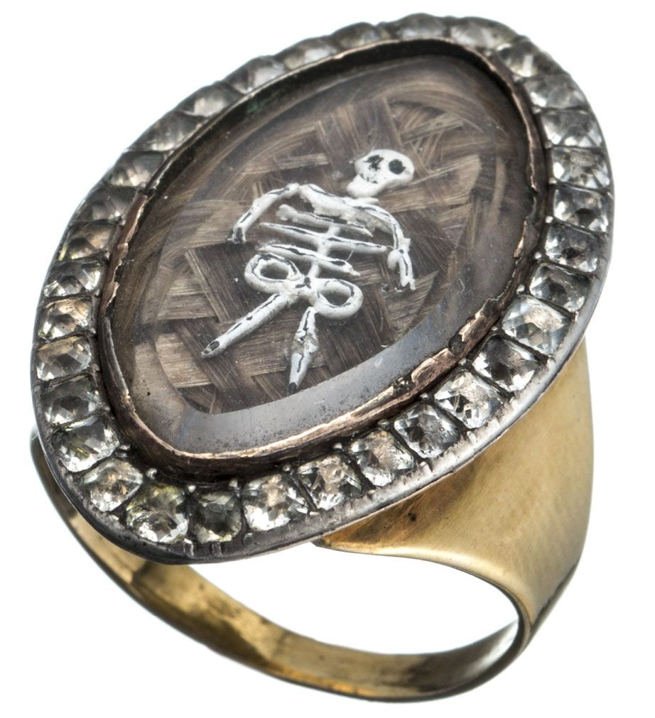 ring pinterest metal rings pin skull jewlery brass skeleton skeletons