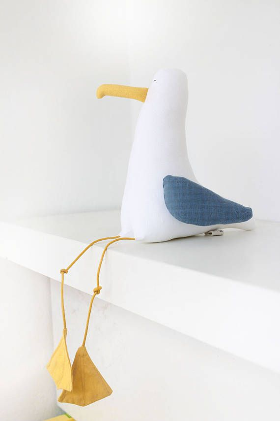Textilkabel Le möwe besteht aus hochwertigem leinen textilkabel und watte
