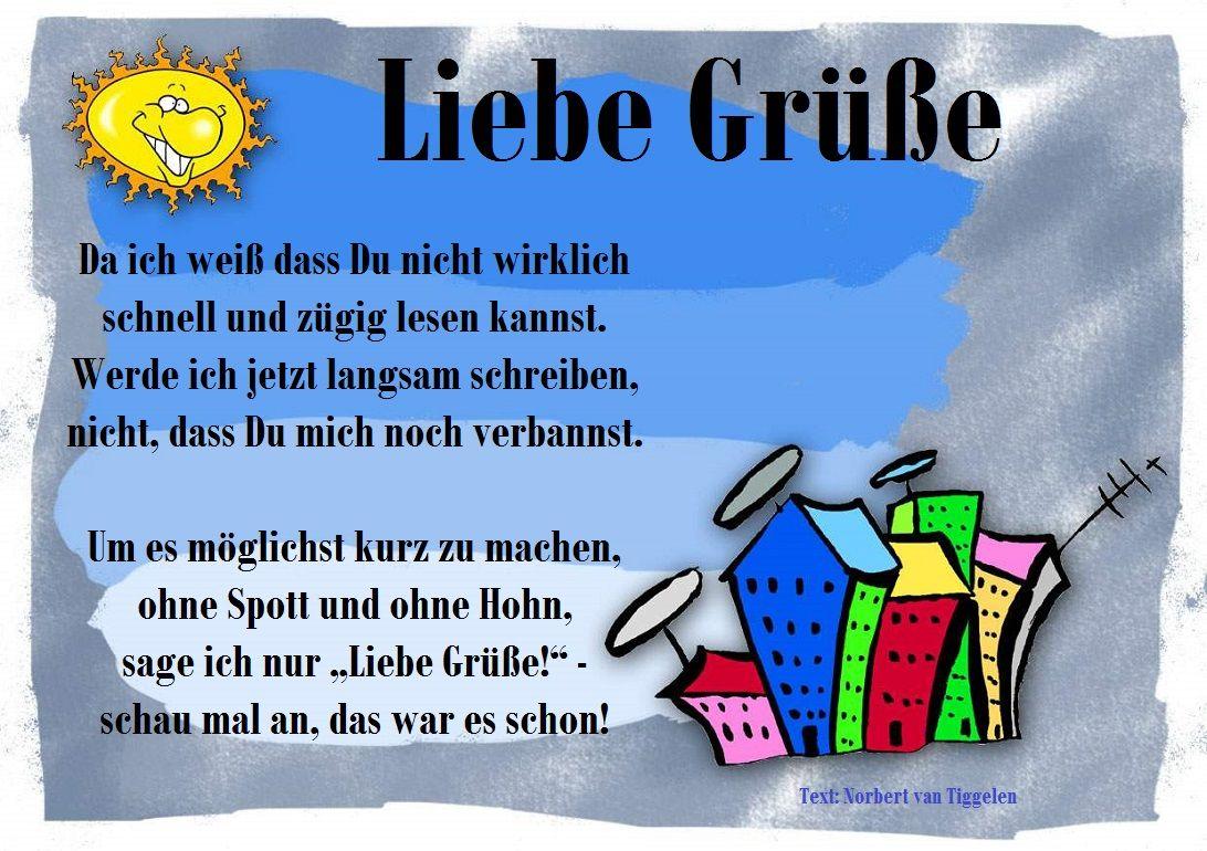 Van Tiggelen Gedicht Reim Menschen Leben Weisheit Gruss Gedichte Sinnspruche Tagesspruch