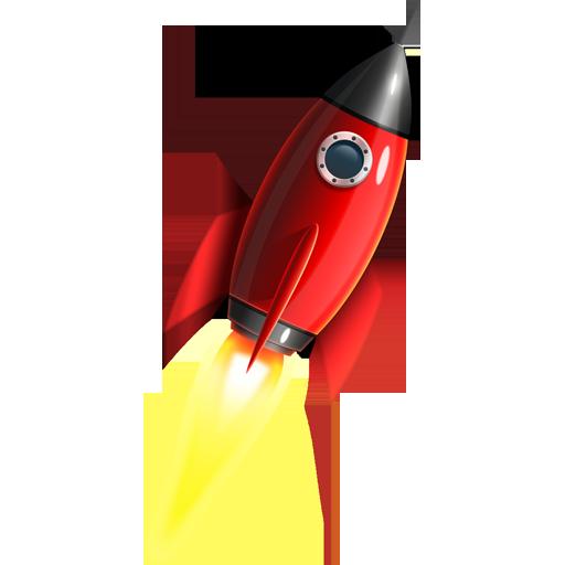 Space Rocket Icon Psd Graphicsfuel Vintage Rockets Space Rocket Rocket Ship