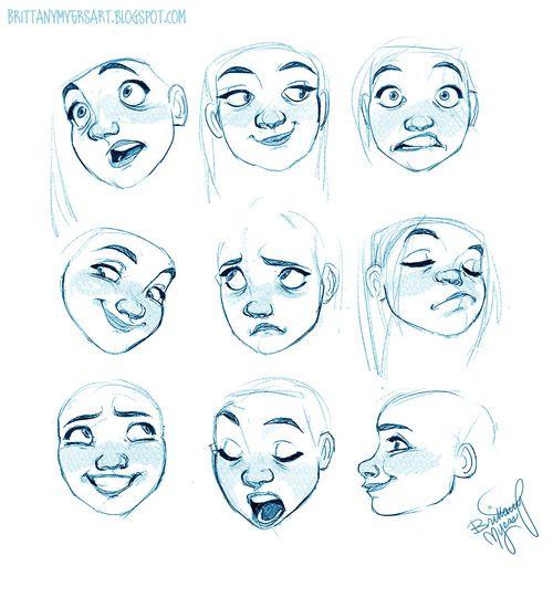 Character Design References Find More At Https Www Facebook Com Characterdesignreferences Cosas De Dibujo Expresiones De Dibujo Diseno De Personajes
