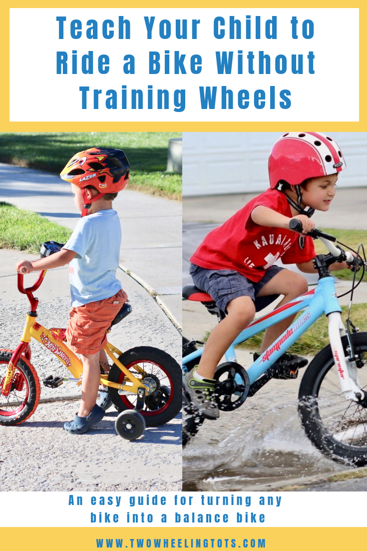 How To Teach A Child To Ride A Bike Bike With Training Wheels