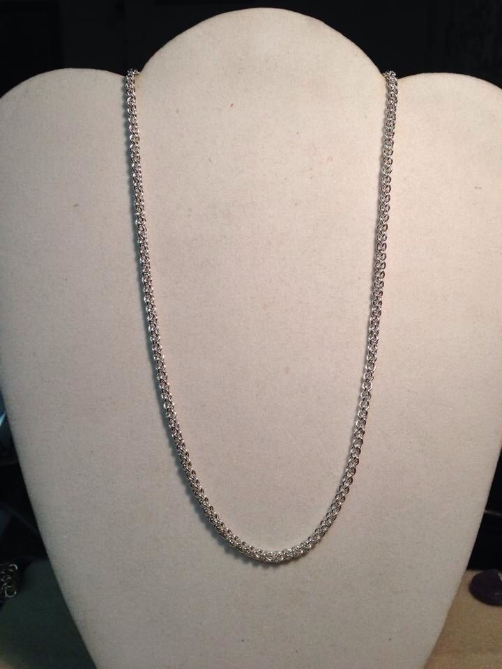 Sterling Silver chain, 18\