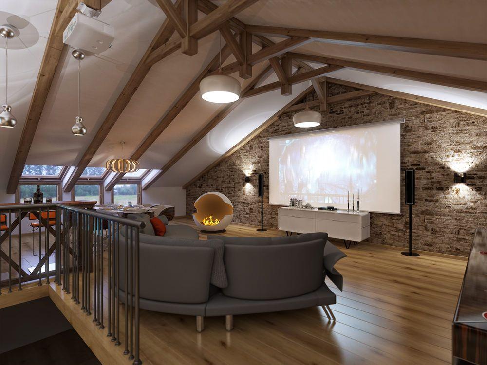 90 Home Theater Media Room Ideas Photos Attic Renovation Attic Remodel Theater Room Design