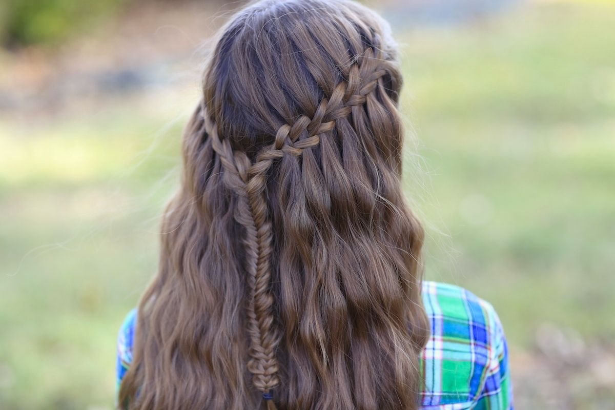 Scissor waterfall combo pinterest latest hairstyles braid