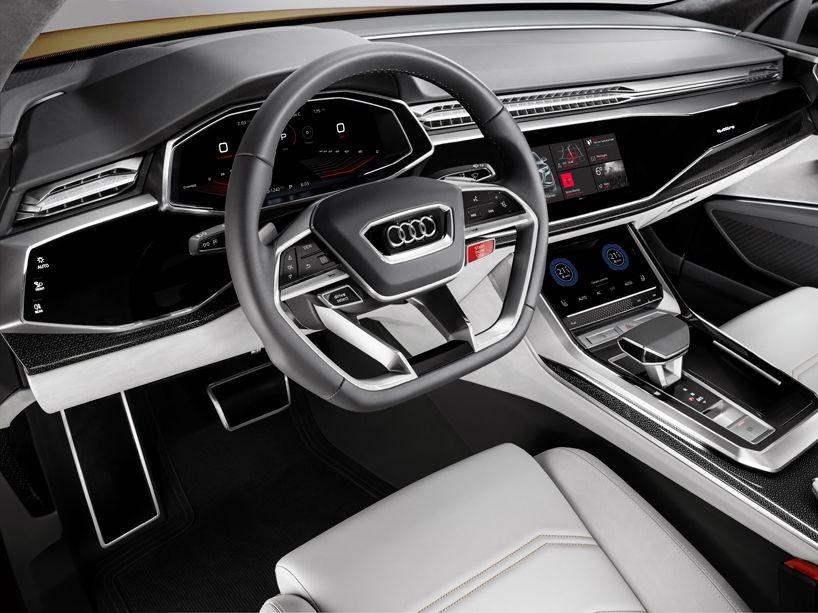 Audi Q8 Sport Concept Previews Luxury Suv With 1190 Km Range
