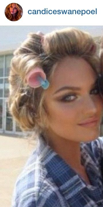 Velcro Rollers And Clips Victoria Secret Hair Styling
