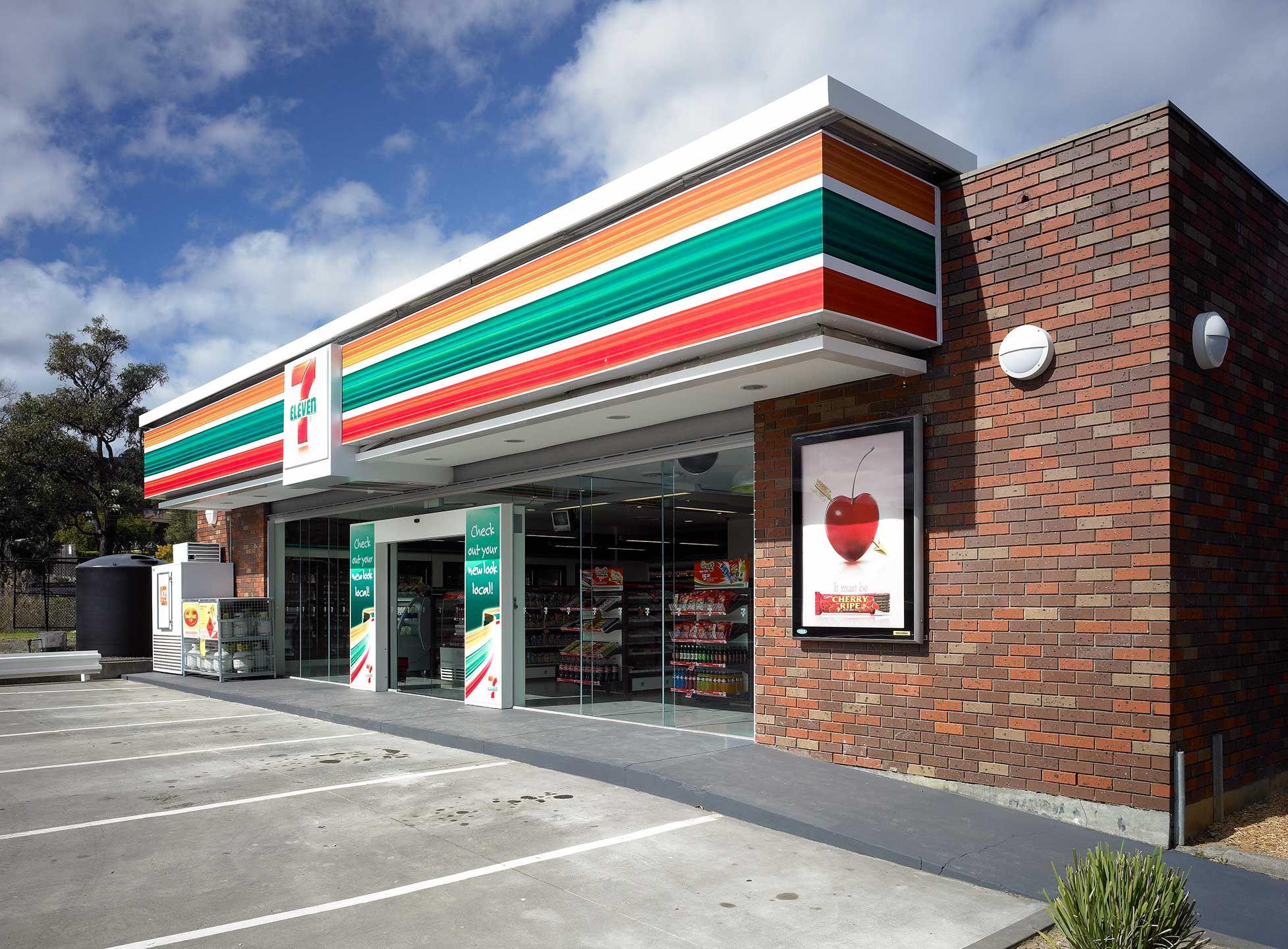 7-Eleven | Supermarket design, Grocery store design, Retail ...