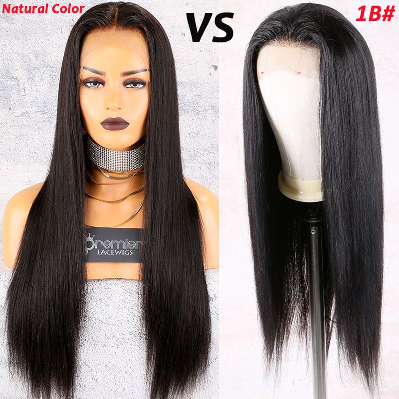 premierlacewigs Natural color VS 1B 1️⃣ Natural color is