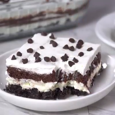 No-Bake Chocolate Lasagna