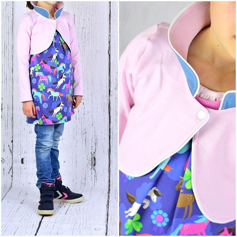 Contemporary Bolero Jacket Nähmuster Gift - Decke Stricken Muster ...