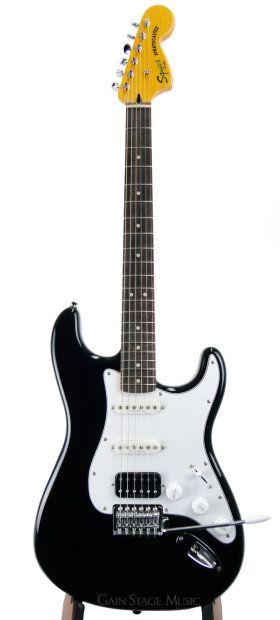 Squier Vintage Modified Stratocaster Hss Black Reverb Squier Squier Guitars Guitar