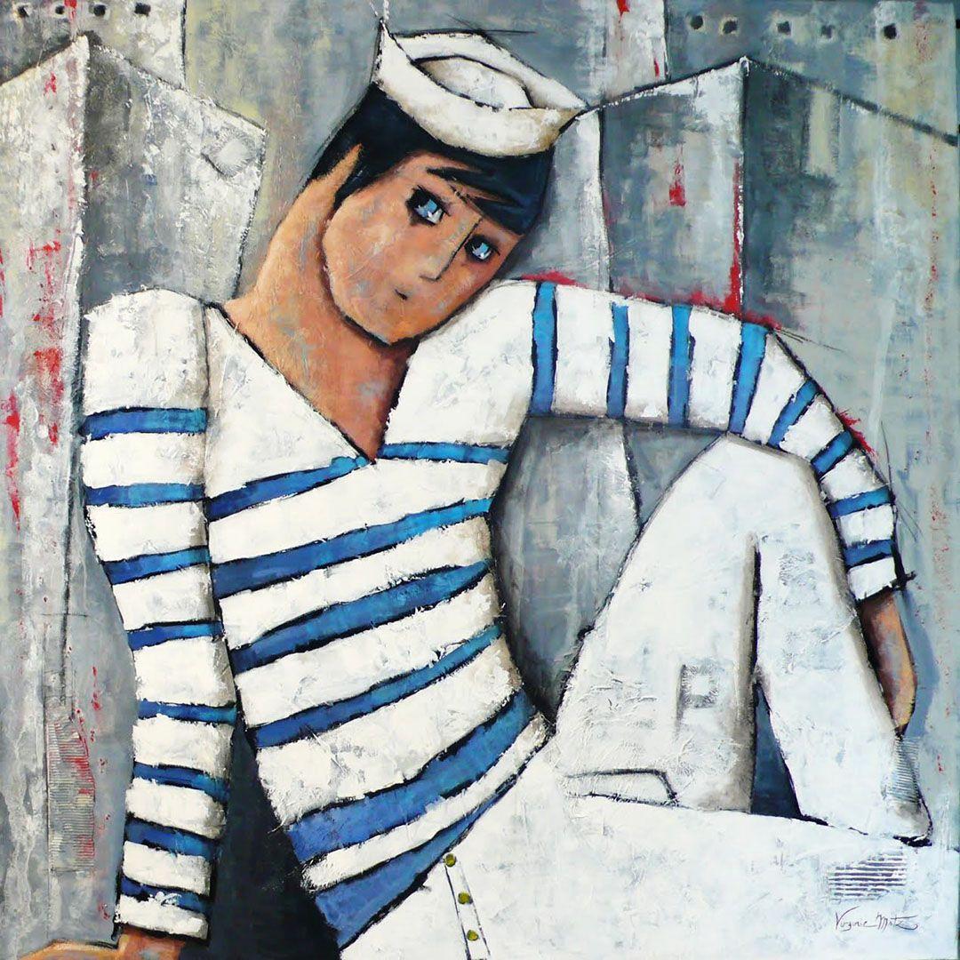 Peinture bretonne et normande contemporaine a imprimer for Peinture contemporaine