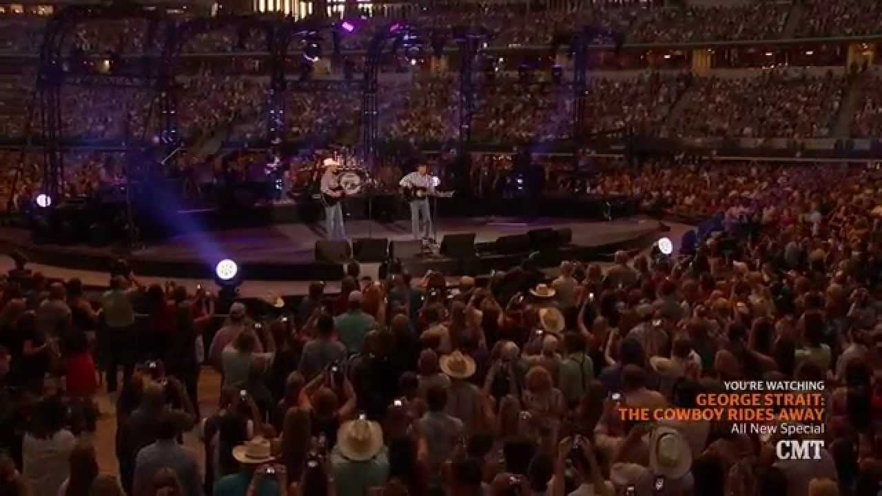 George Srait The Cowboy Rides Away Live From At T Stadium George