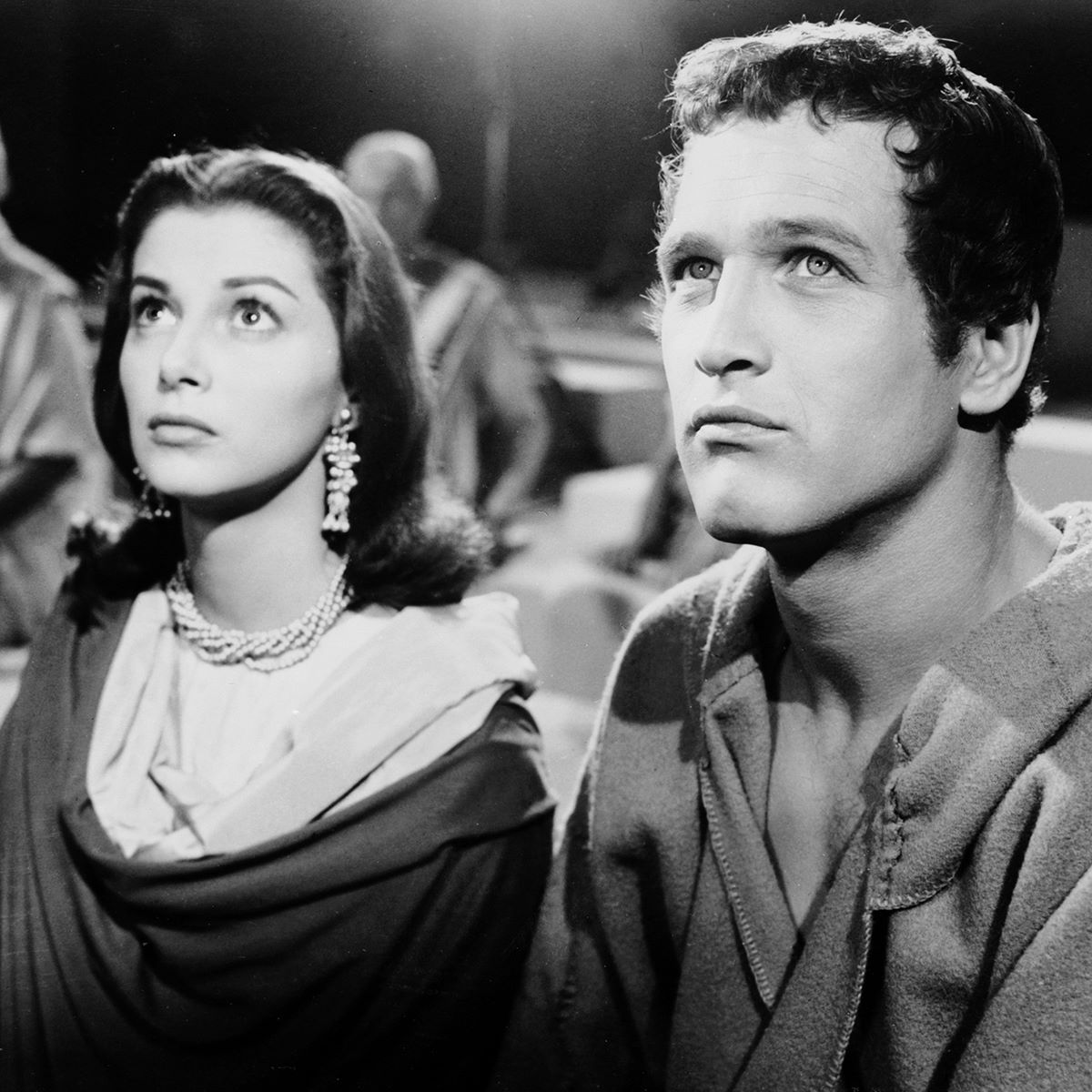 Ana Maria Pier Angeli pier angeli with paul newman in the silver chalice ('54) 1