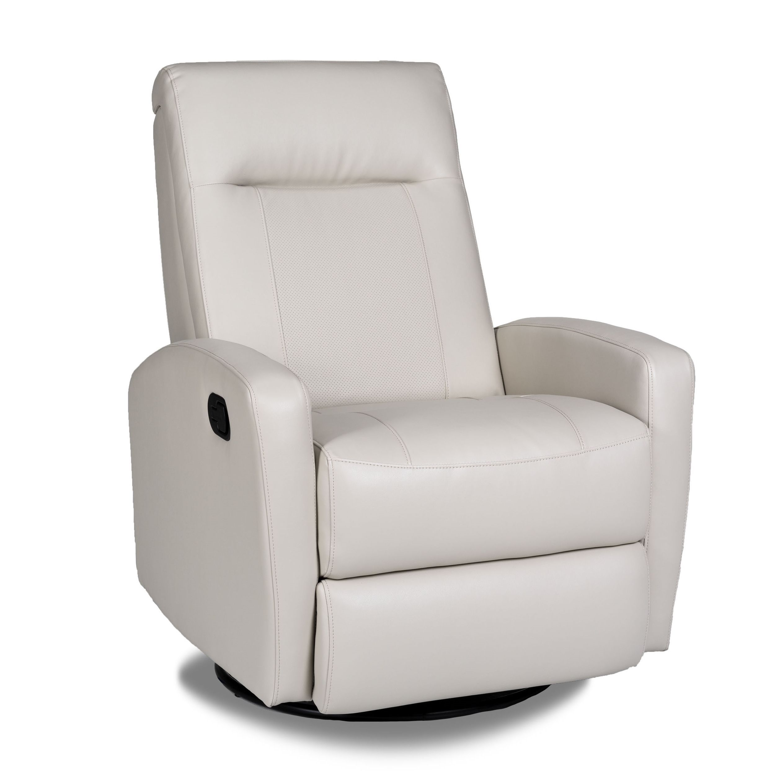 Stefan Bonded Leather Swivel Glider Recliner - Overstock™ Shopping ...