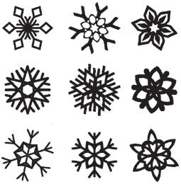 3d pen snowflake template  Snow - 6Doodler … | 6d pen stencils, 6d drawing pen, 6d ...